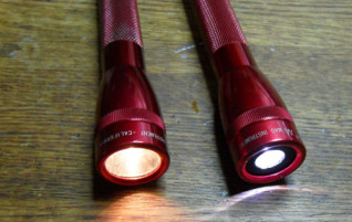 Converting a Mini Maglite to an LED Flashlight